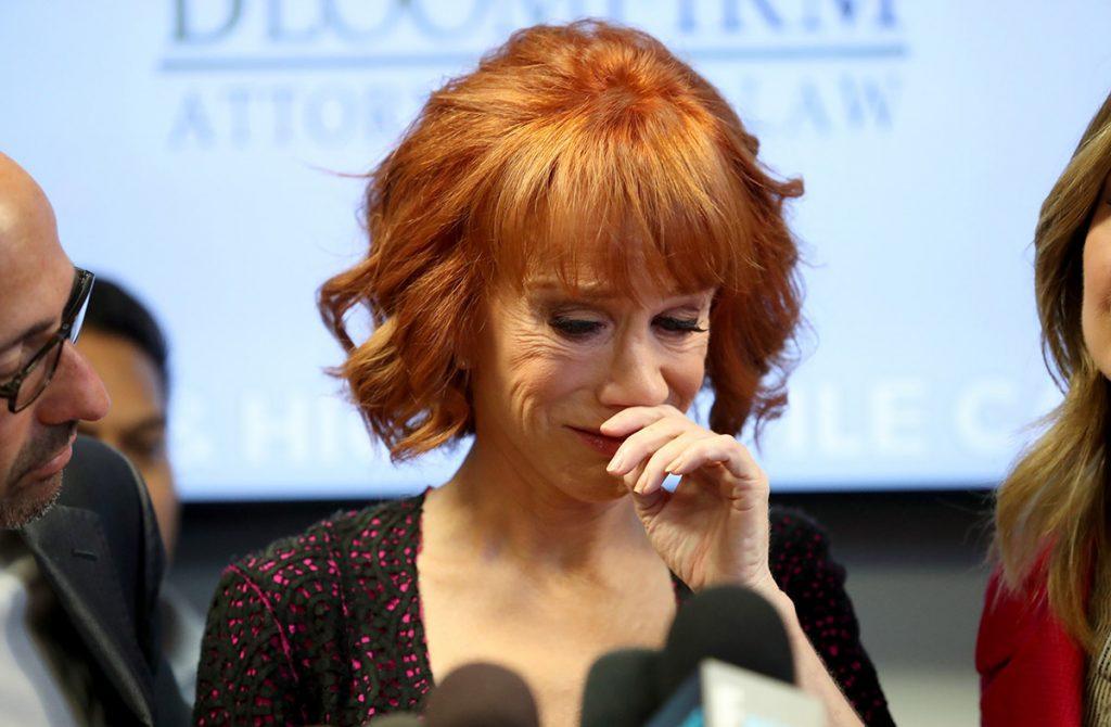 FOTO AFP. La comediante ha sufrido cancelaciones de muchas presentaciones.
