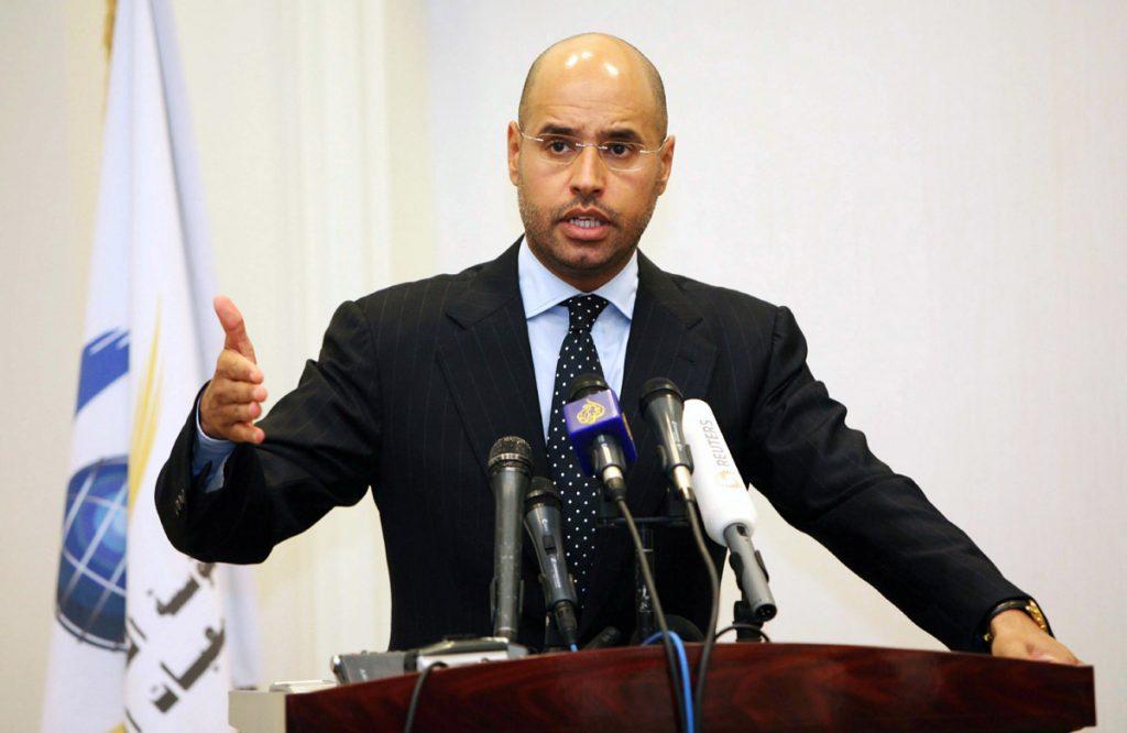 FOTO EFE. Saif al Islam era la cara 'amable' del régimen de su padre Al Gadafi
