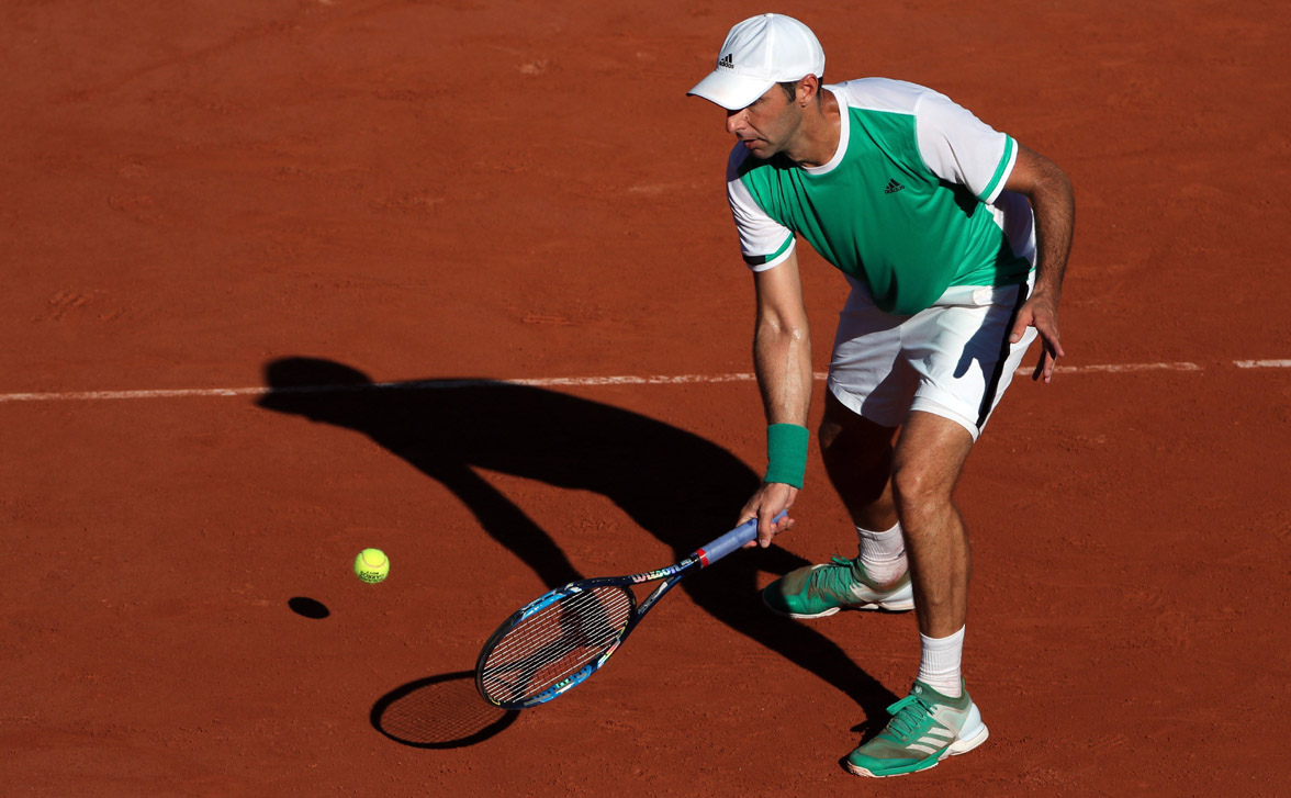 FOTO EFE. 'Santi' no pudo romper la sequía de 40 años sin título en Roland Garros para México.