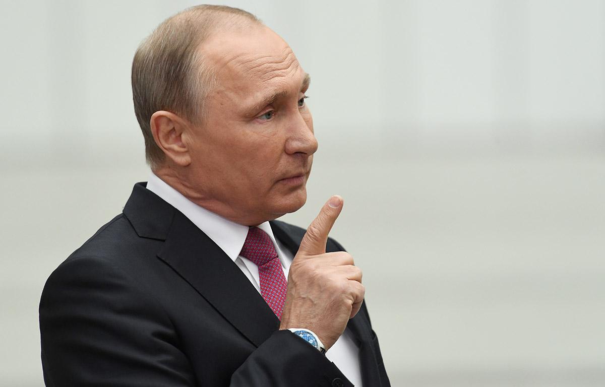 FOTO AFP. El presidente ruso raramente asiste a partidos de fútbol.
