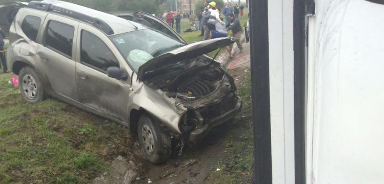 Accidente en Circuito Exterior Mexiquense deja varios muertos.