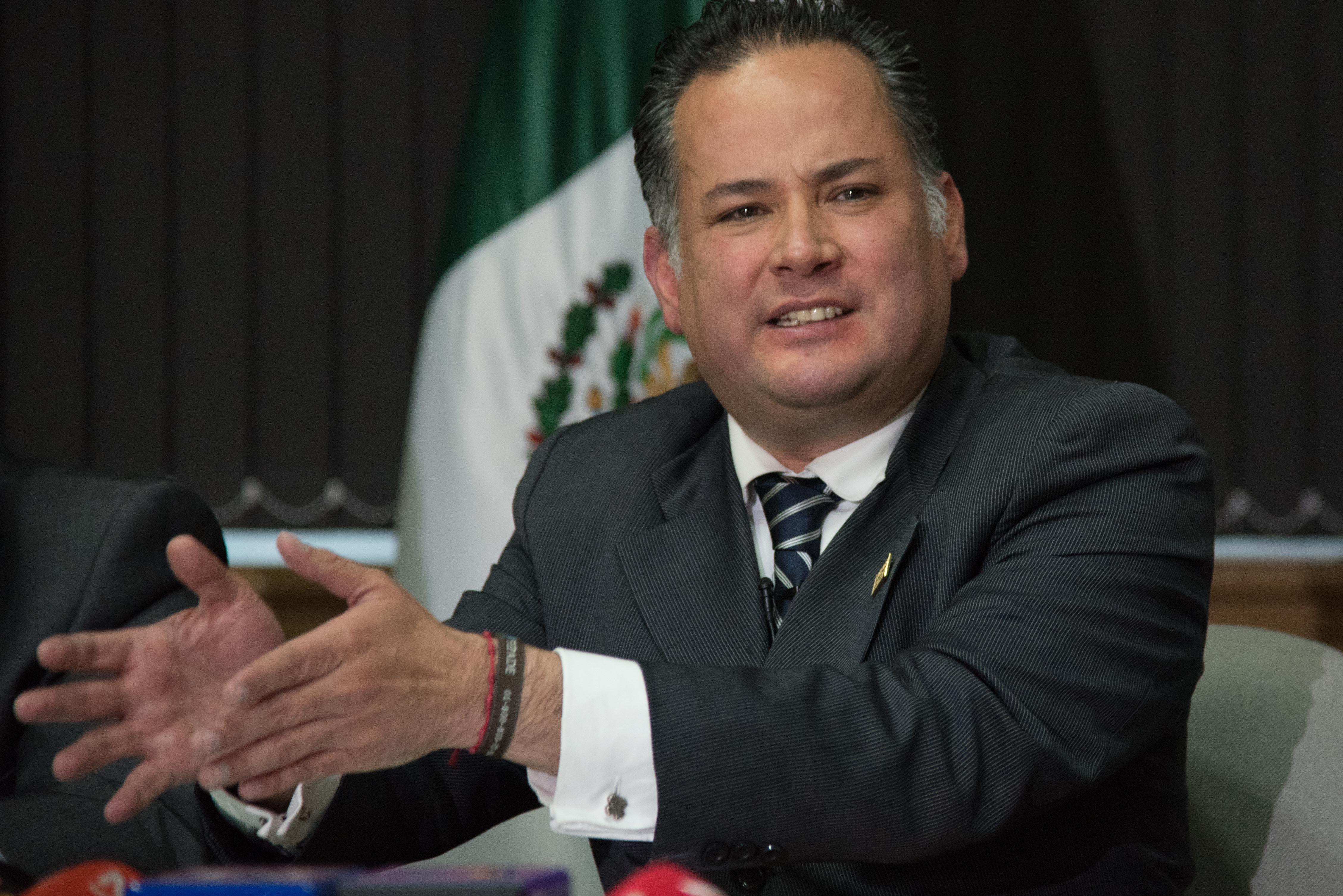 Santiago Nieto, titular de la Fiscalía Especializada para la Atención de Delitos Electorales (FEPADE) en imagen de archivo. FOTO: CUARTOSCURO
