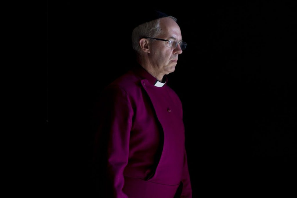 Arzobispo Justin Welby. Foto: AP