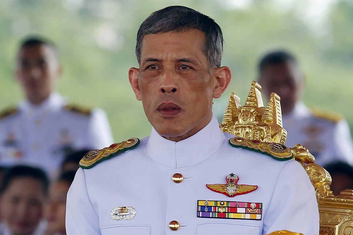 El Rey de Tailandia Maha Vajiralongkorn. Reuters.