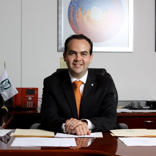 Patricio Caso Prado, nuevo director administrativo del IMSS. Imagen de @patocaso