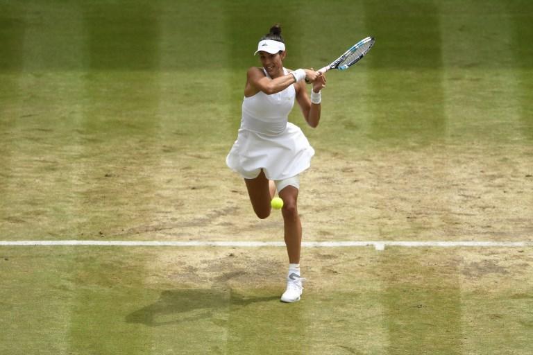 Muguruza aplasta a Rybarikova y vuelve a una final de Wimbledon