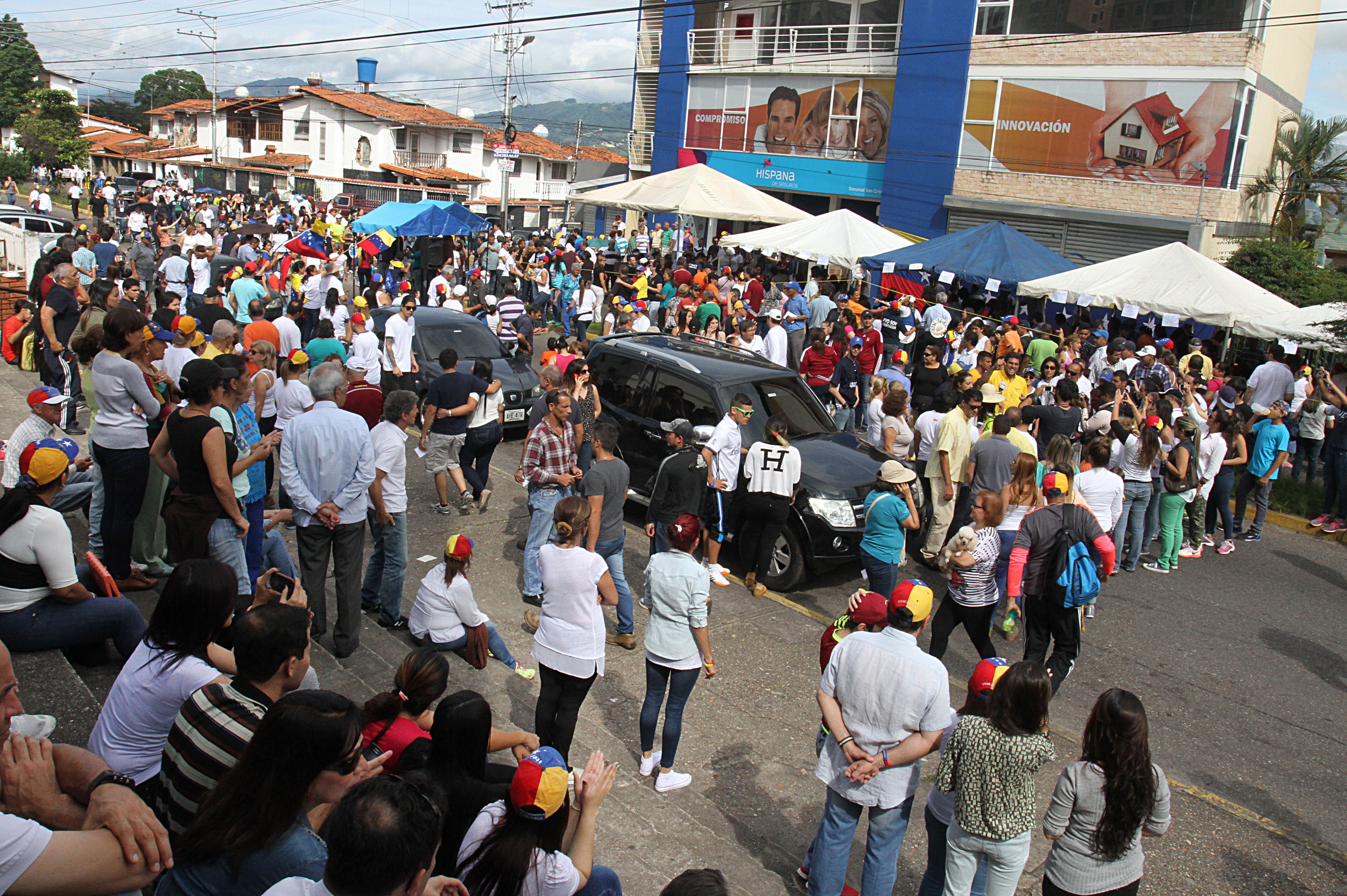 Plebiscito en Venezuela, crisis violenta. @AFP