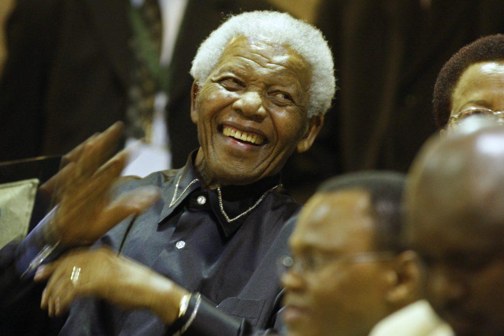 Nelson Mandela. @AFP