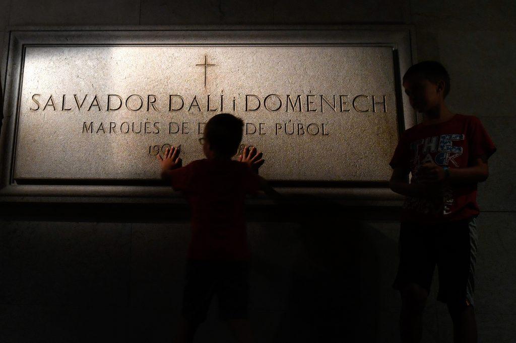 Tumba de Salvador Dalí. @AFP