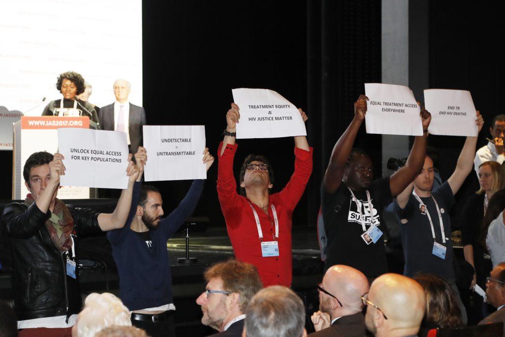 Conferencia sobre el SIDA en París. @AFP