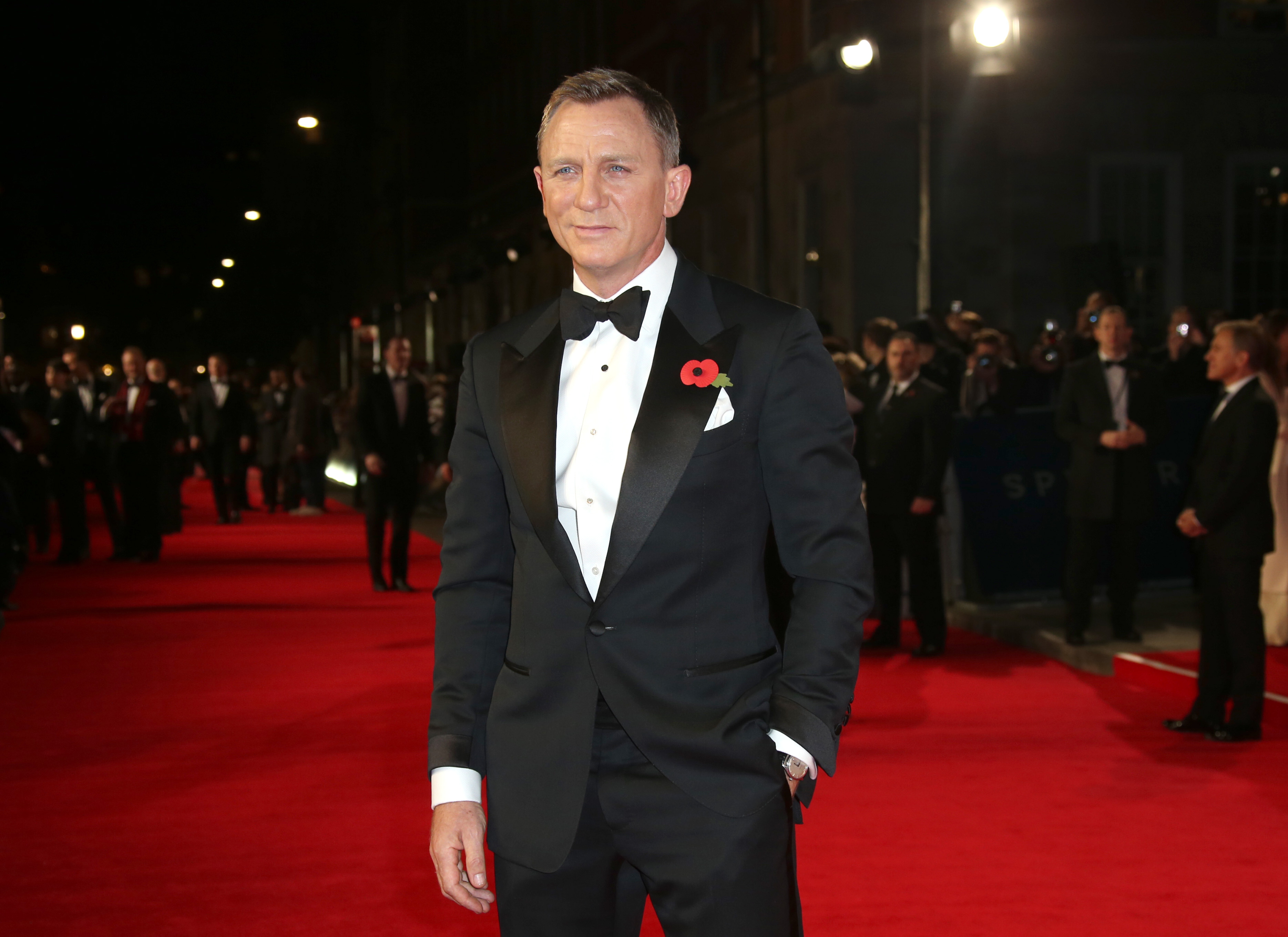Daniel Craig. @AP