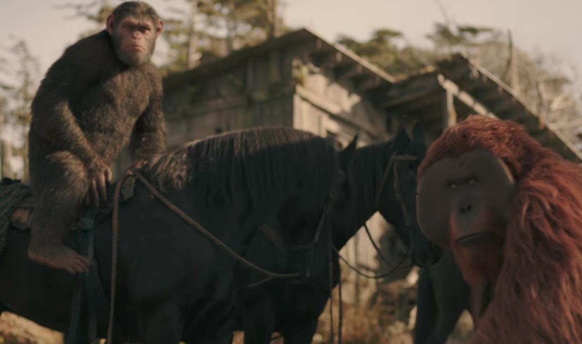 """""""Guerra por el planeta de los simios"""" triunfa en taquilla en estreno"""