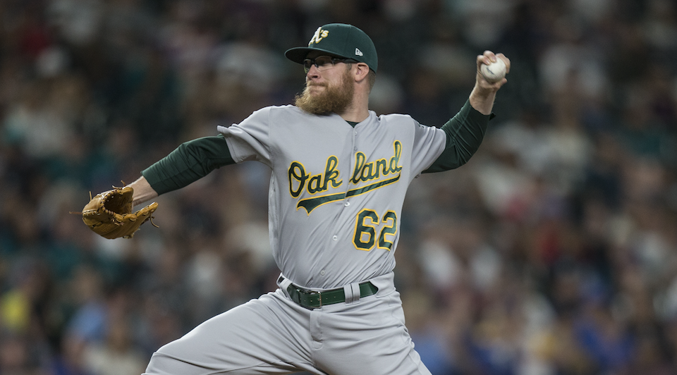 Sean Doolittle. @AFP