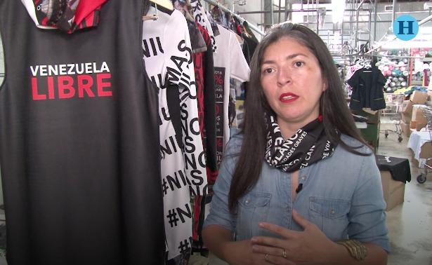 """Moda inspirada en la """"resistencia"""" de Venezuela"""