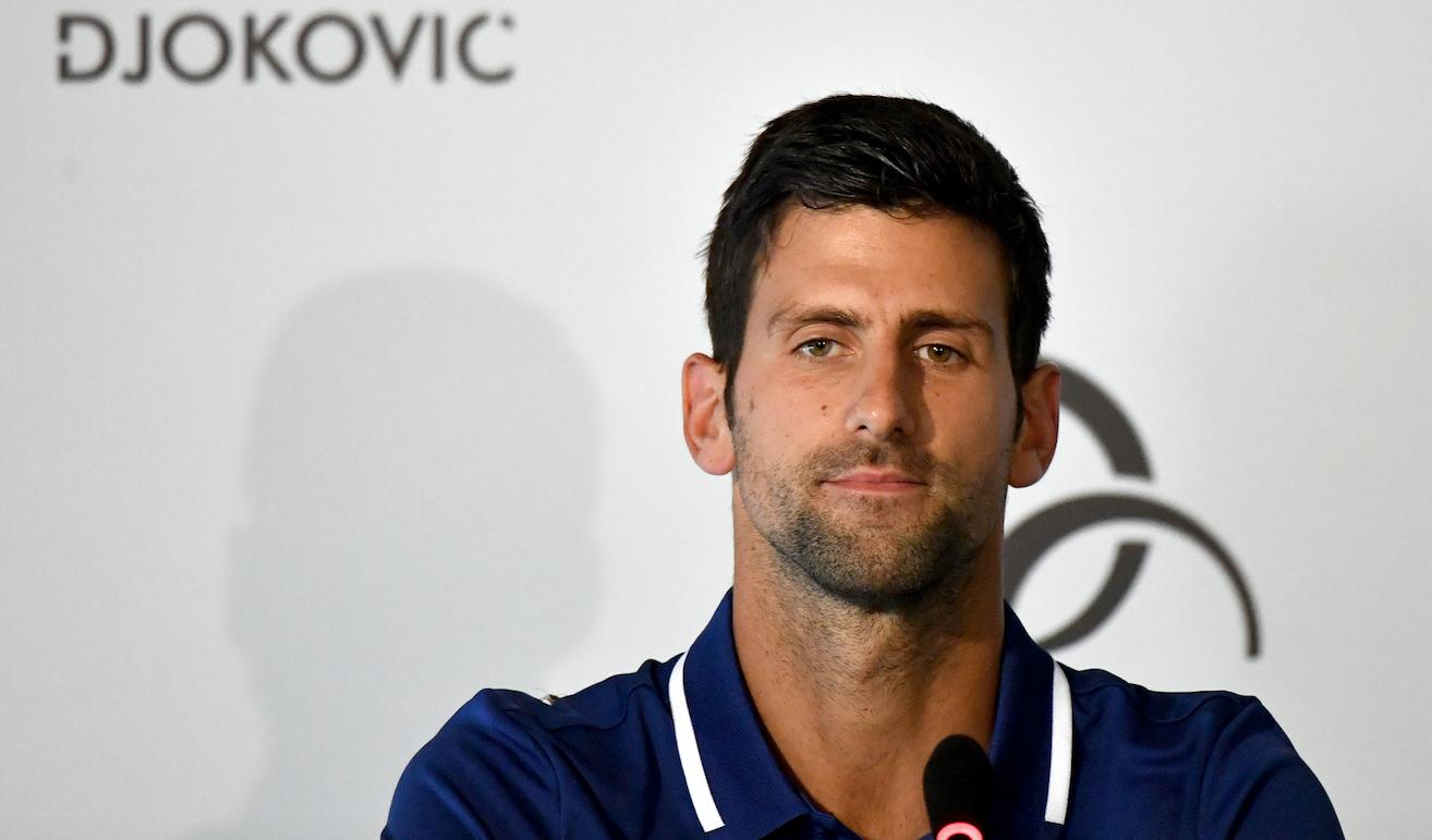 Novak Djokovic. @AFP