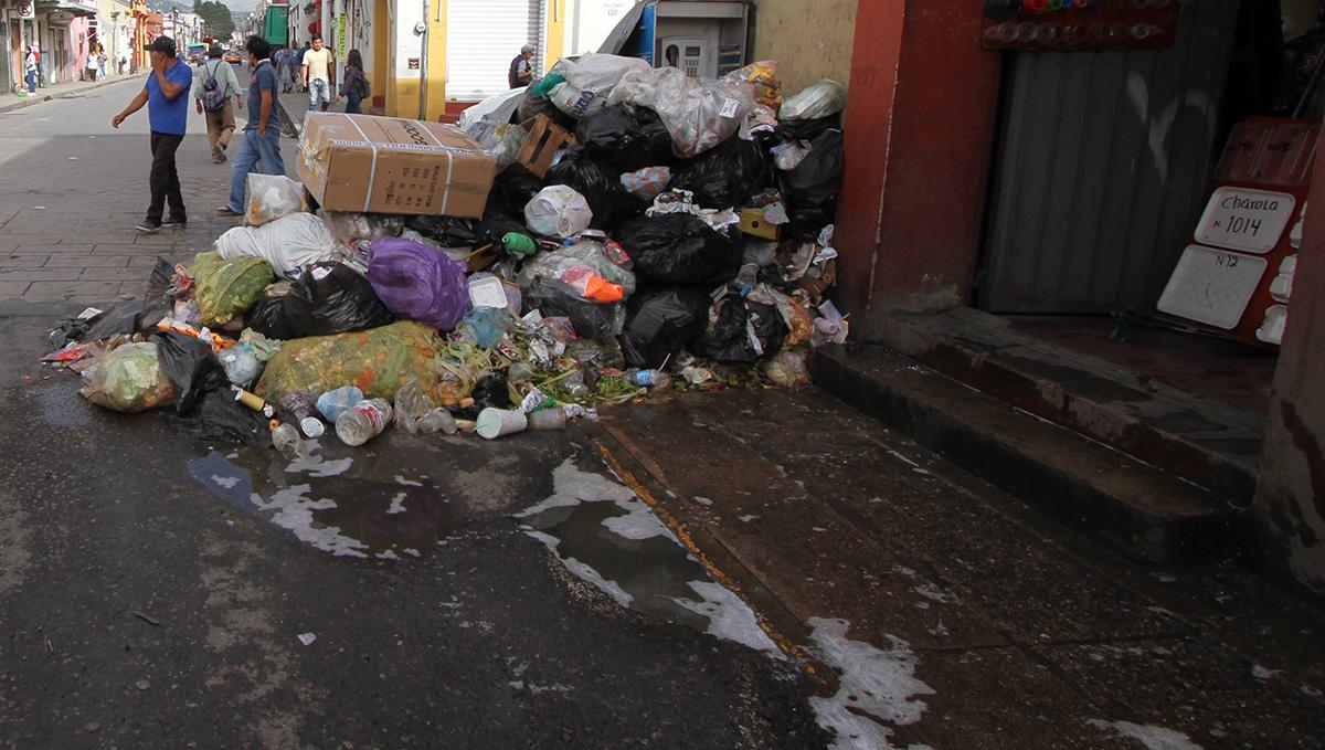 Oaxaca: Resuelto, servicio de limpia y basura