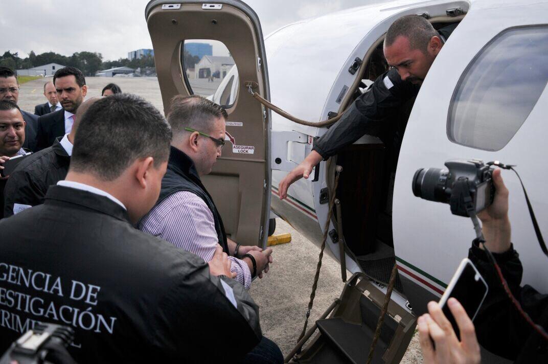 Javier Duarte es entregado a las autoridades mexicanas