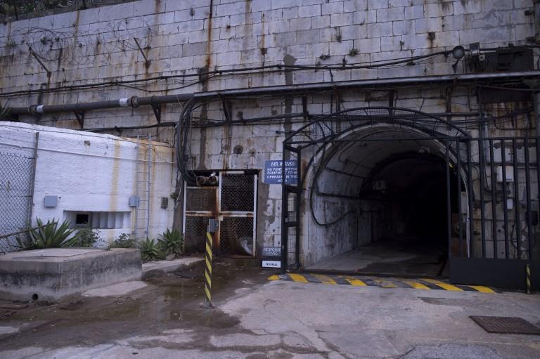 La entrada al túnel. AFP PHOTO / JORGE GUERRERO