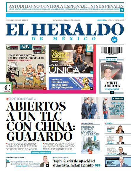 Edición Impresa del 07 de Julio de 2017 - El Heraldo de México