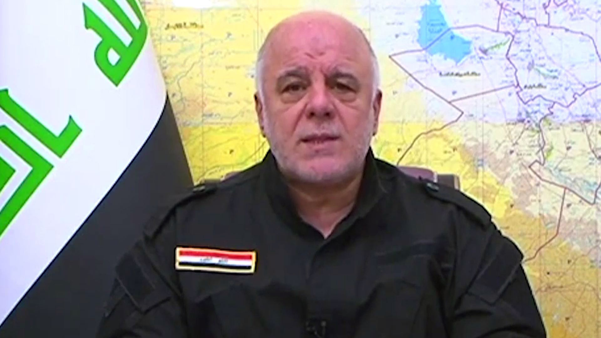 Primer ministro Haider al-Abadi. @AFP