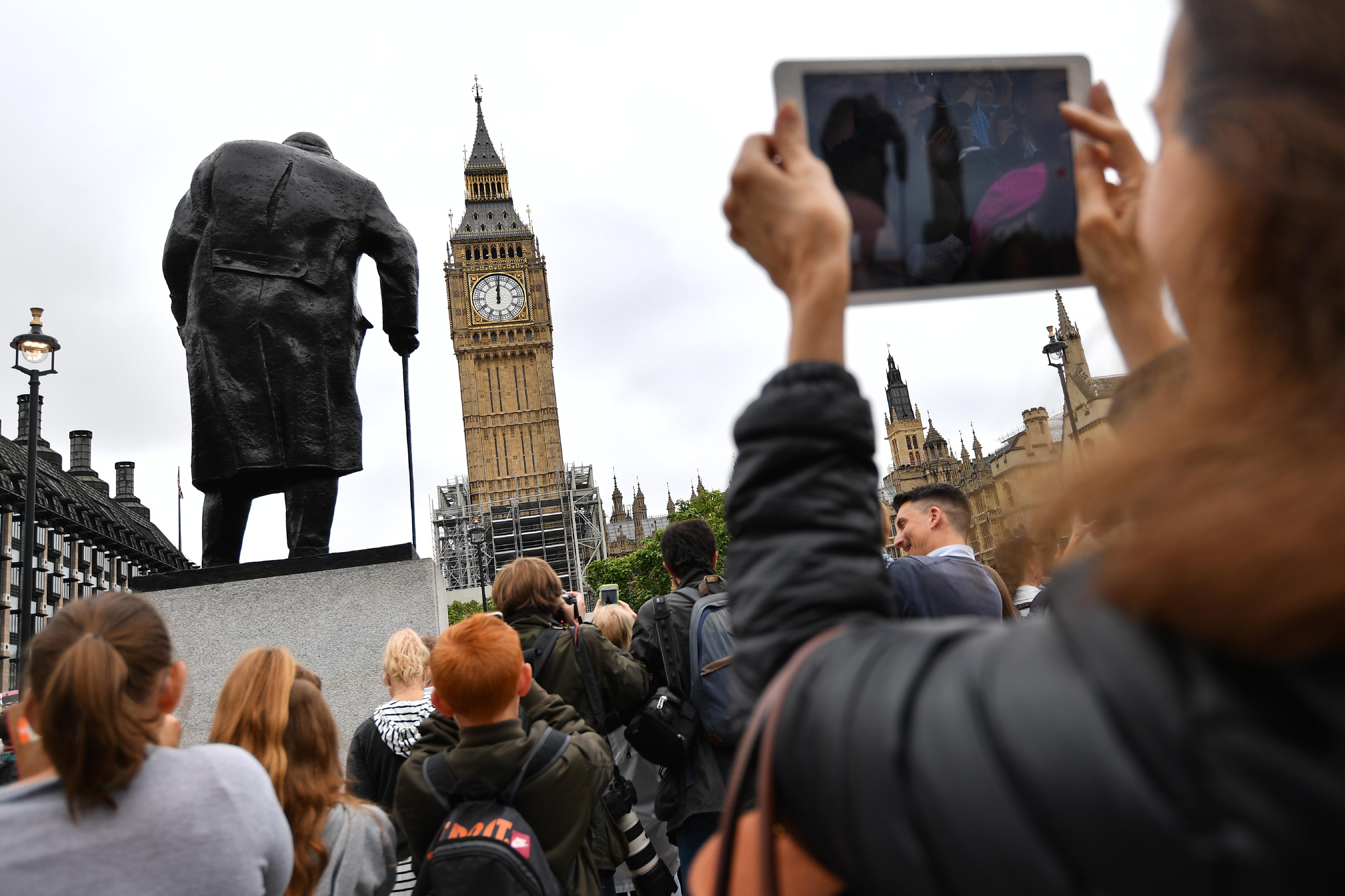 Big Ben. @AFP