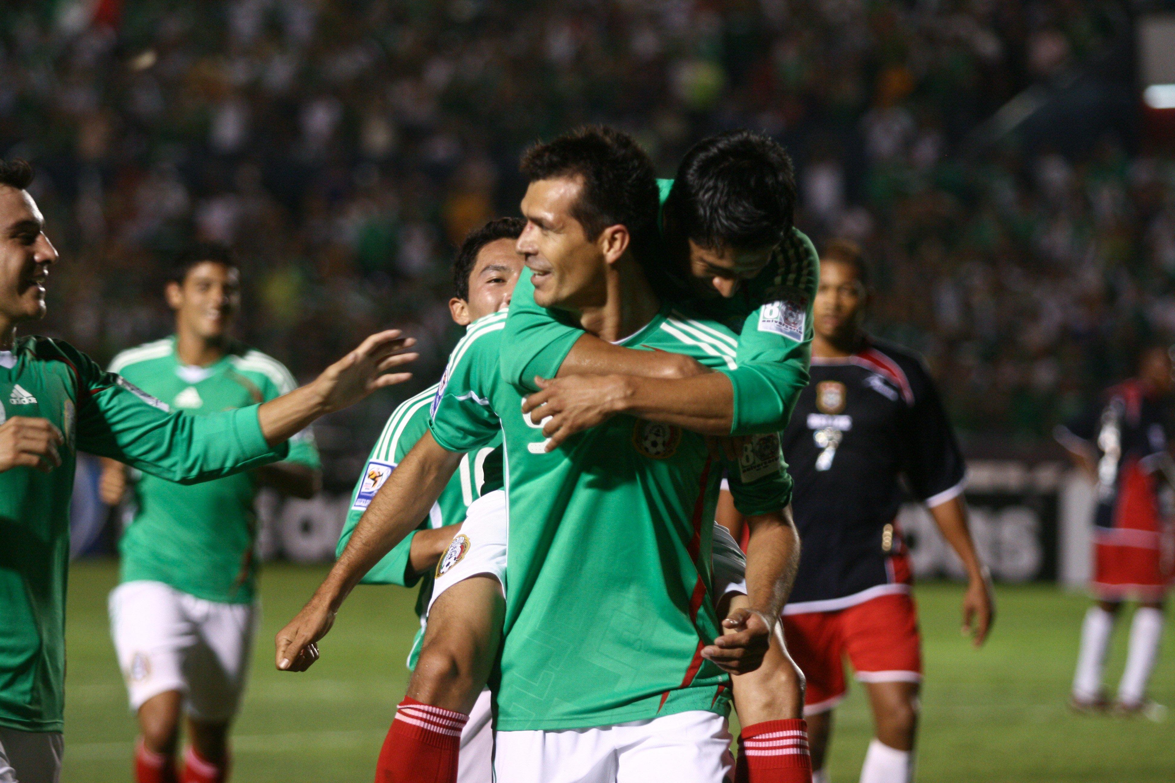 Jared Borgetti en sus tiempos con la Selección Nacional. @Cuartoscuro.com