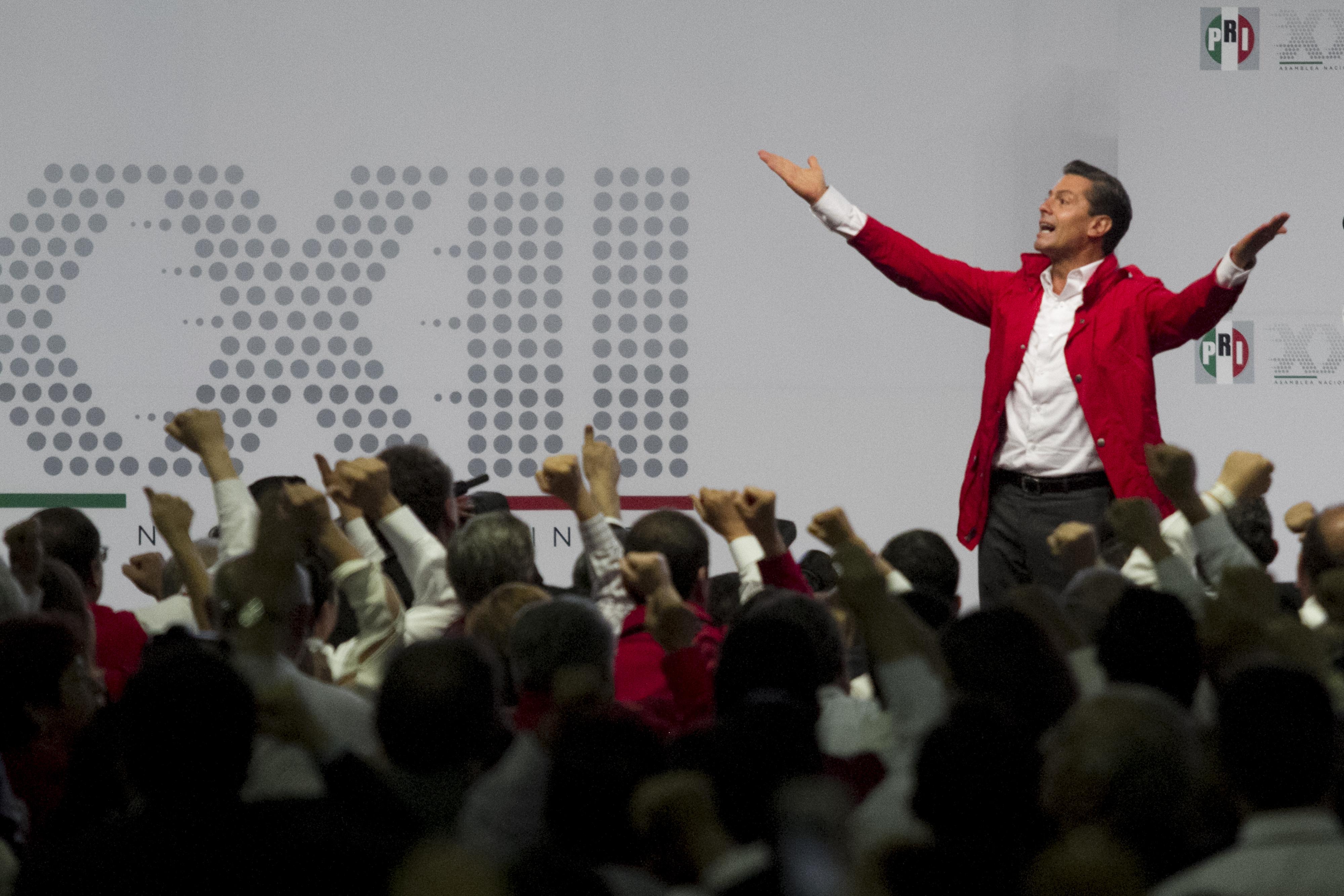 Enrique Peña Nieto, Asamblea Nacional del PRI. @Cuartoscuro.com