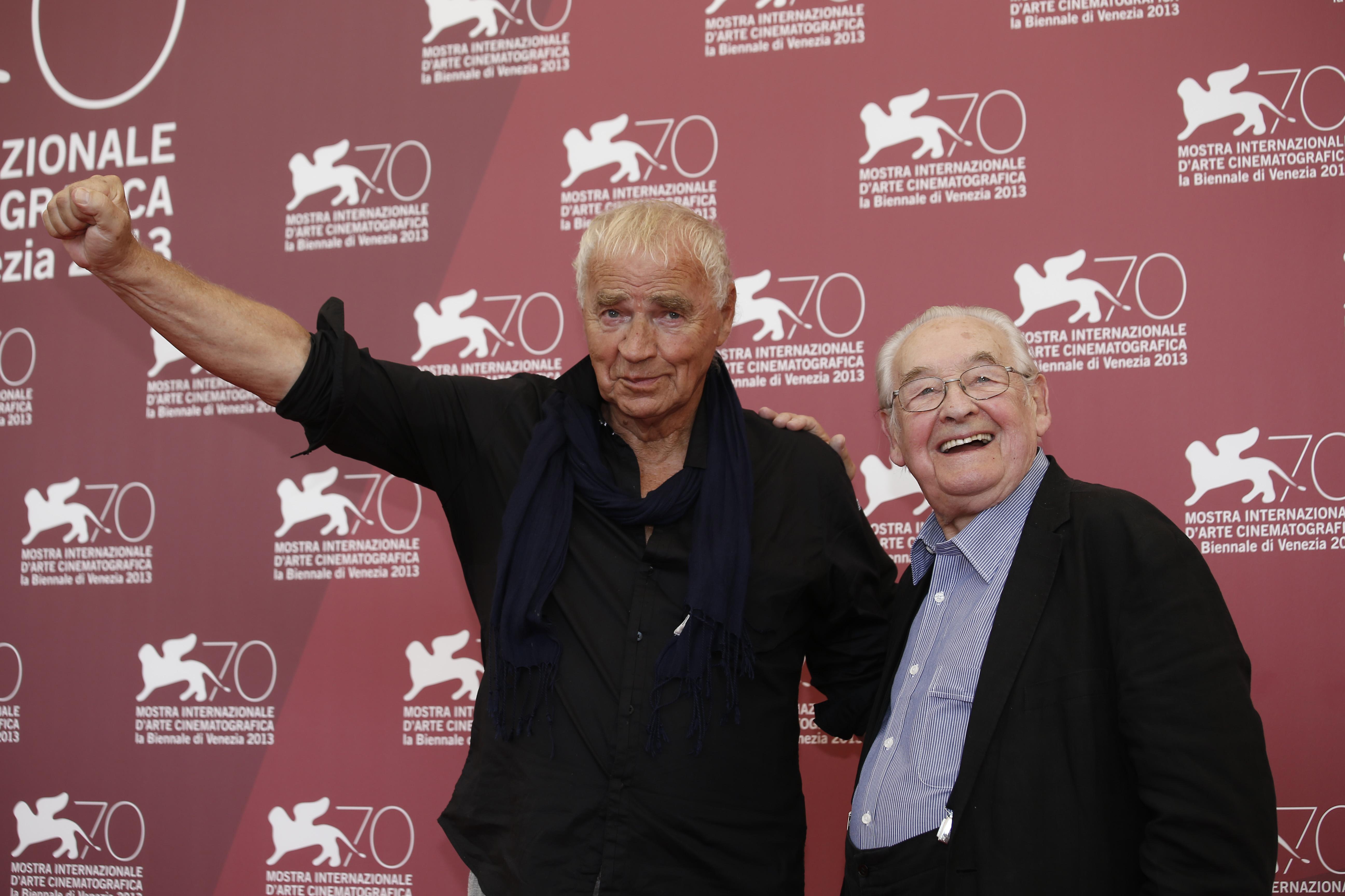 Andrzej Wajda y Janusz Glowacki. @AP
