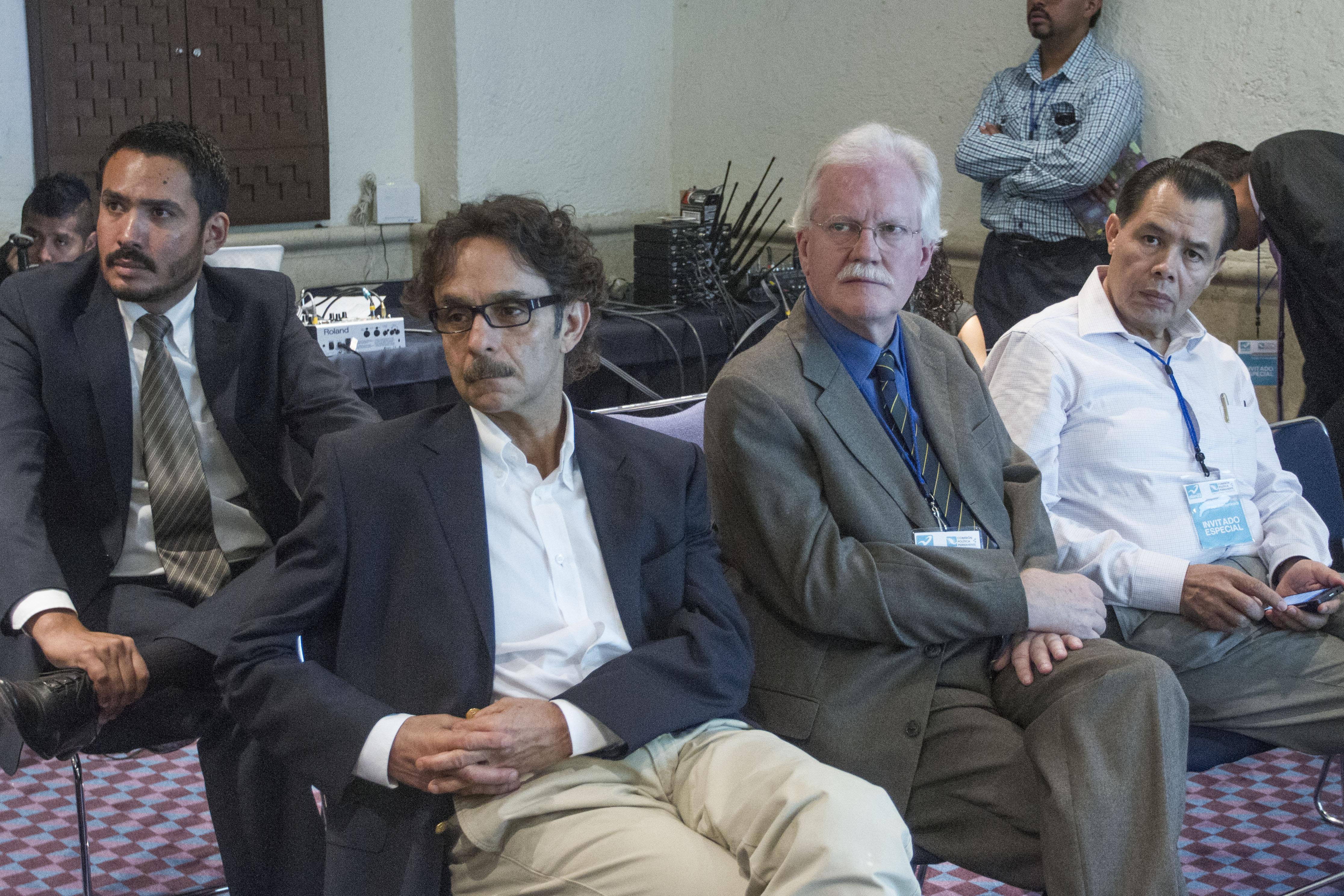 Gabriel Quadri, ex candidato presidencial, Ricardo Pascoe y René Arce. @Cuartoscuro.com