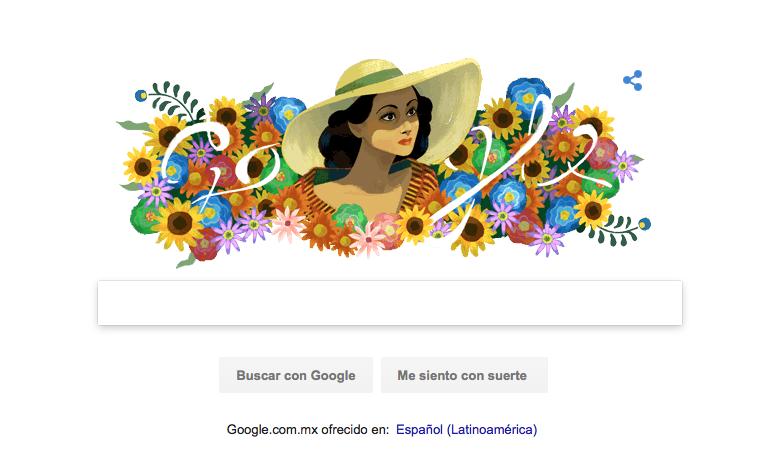Google recuerda a Dolores del Río