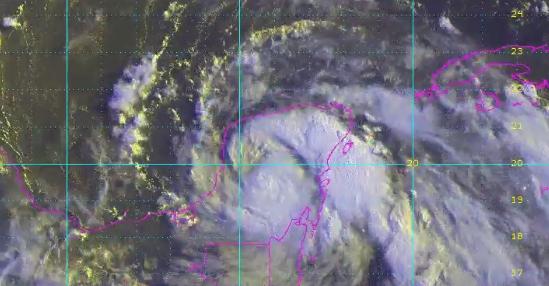 Yucatán y Campeche, en alerta máxima por tormenta tropical Franklin