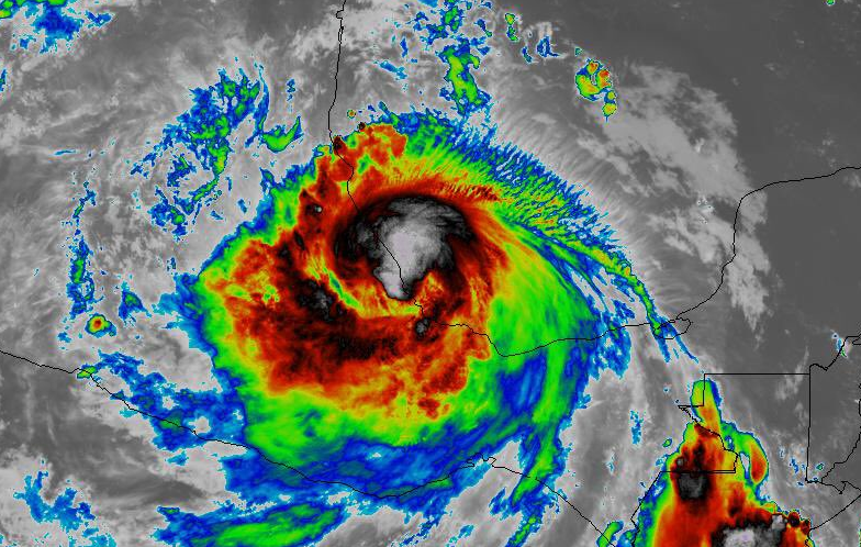 Tormenta Franklin se debilita a remanente, continuarán lluvias fuertes