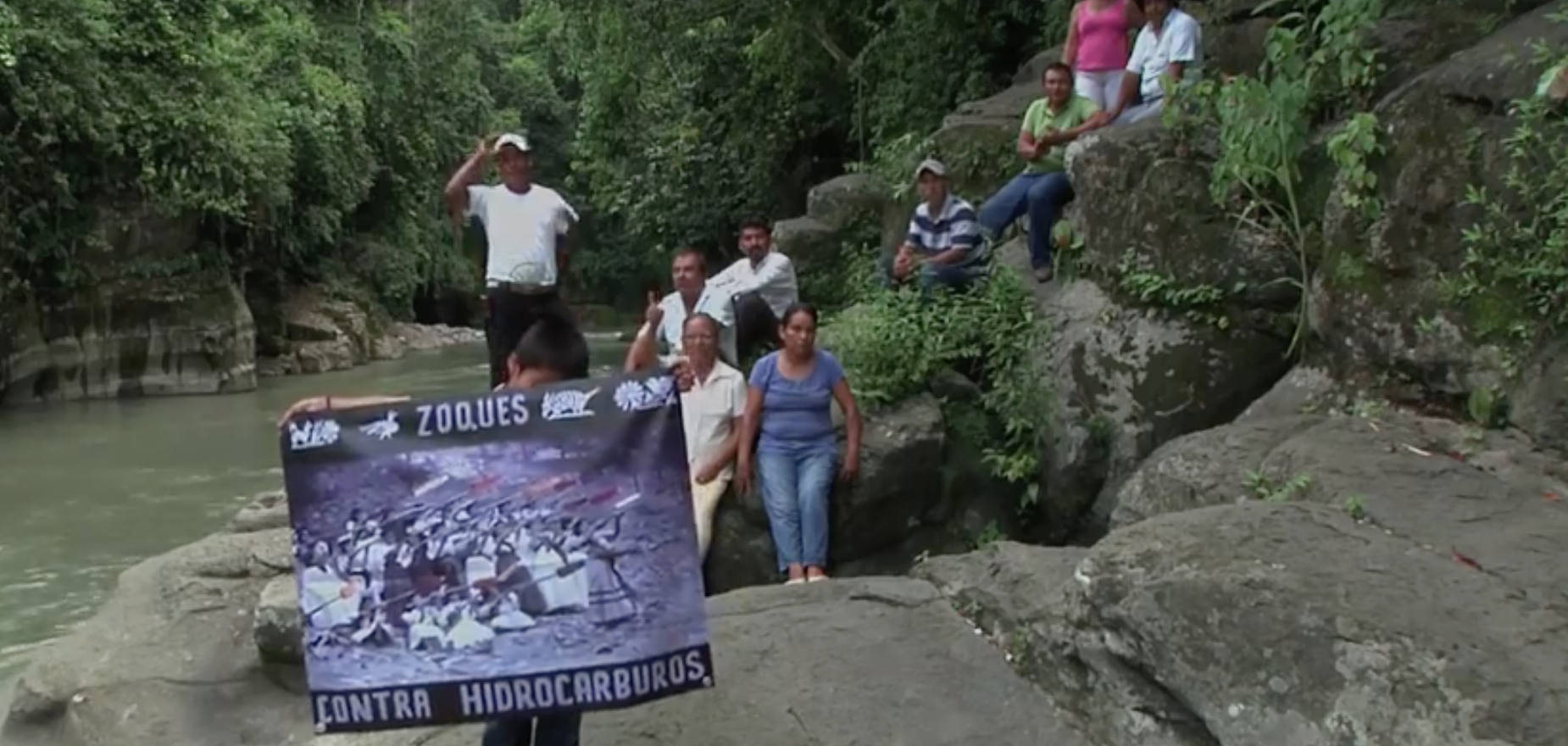 En Chiapas, indígenas Zoques, frenan extracción de hidrocarburos