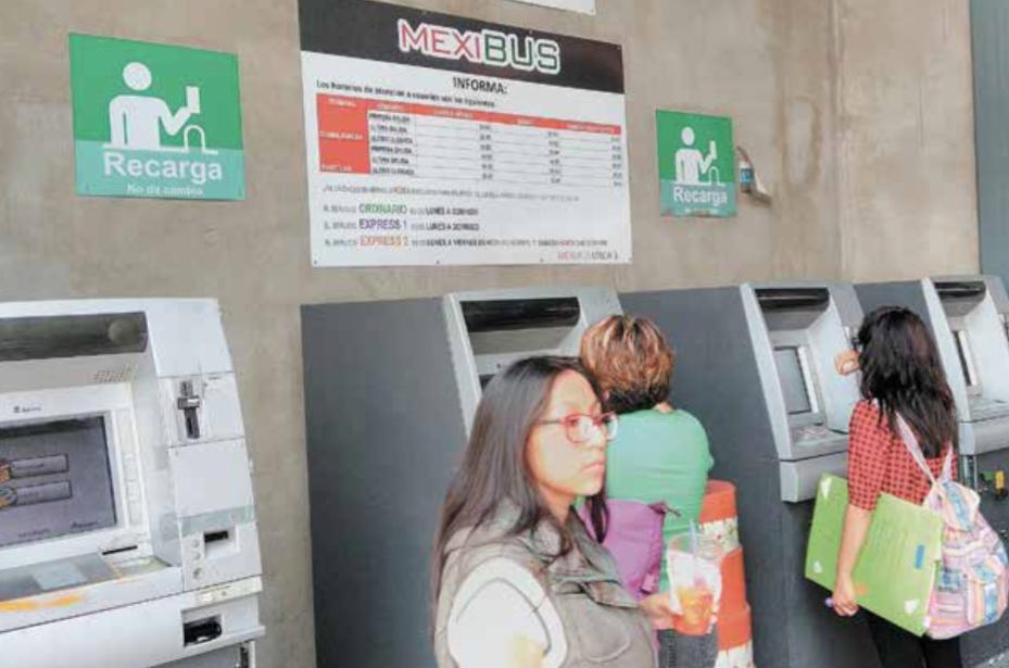 Mexibús no ofrece tarjetas de usuarios desde el pasado mes de enero