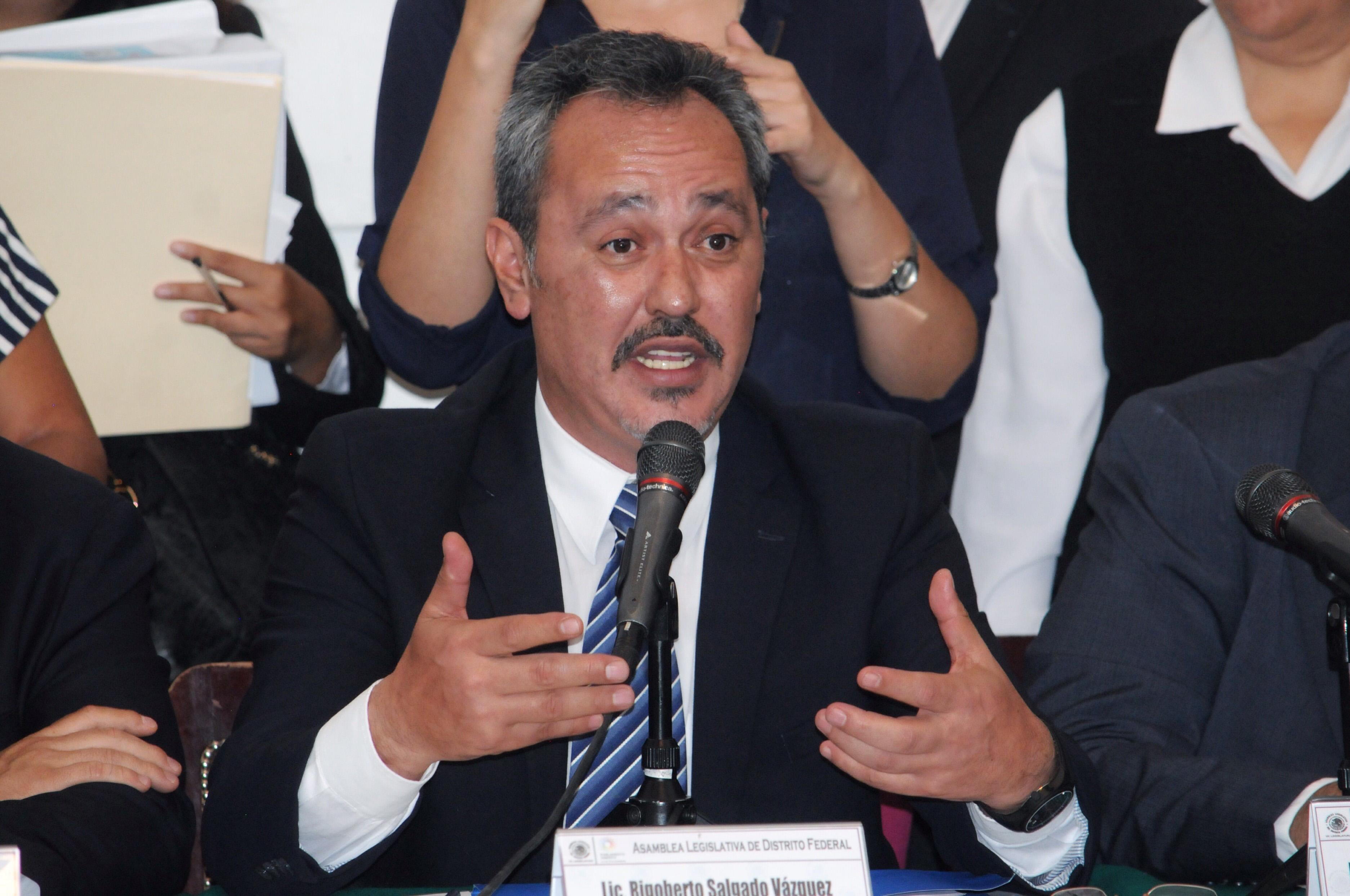 Rigoberto Salgado, delegado en Tláhuac. CUARTOSCURO.