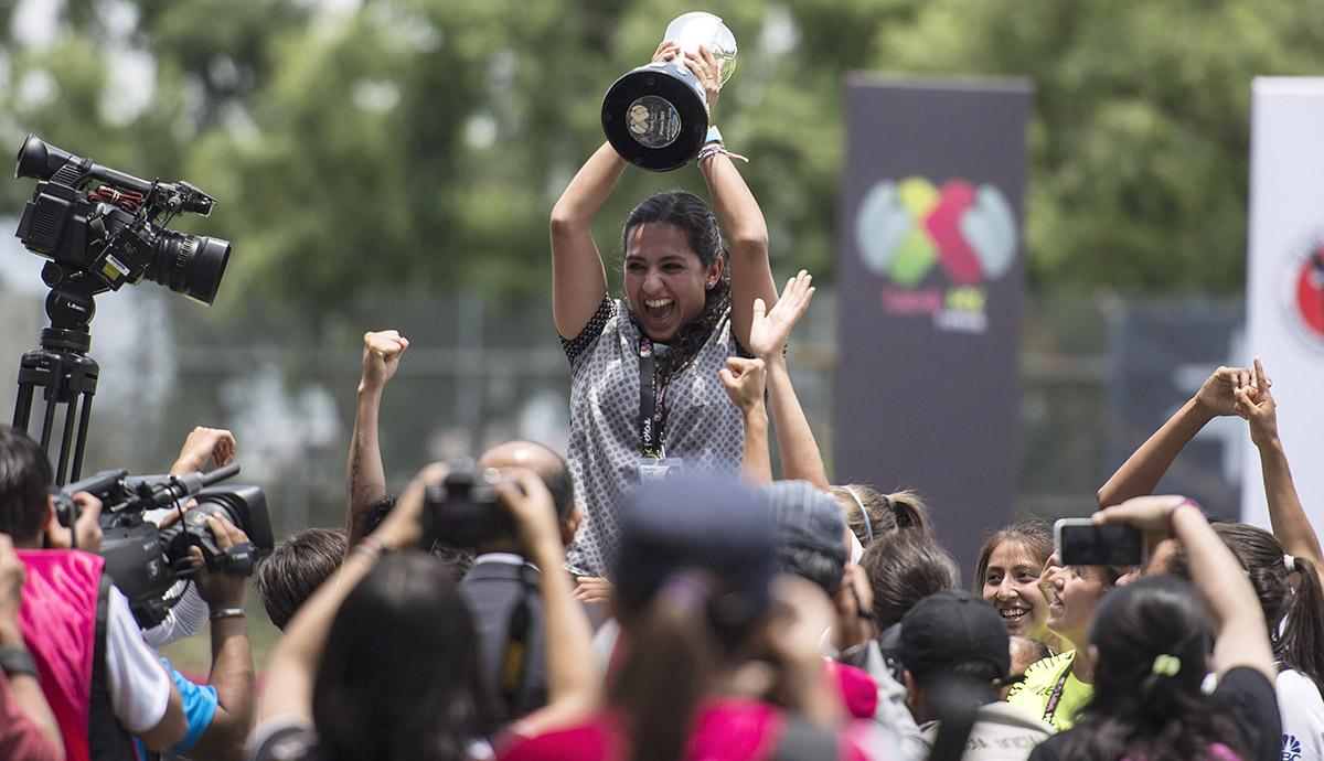 La entrenadora del Pachuca ya levantó el título de Copa.