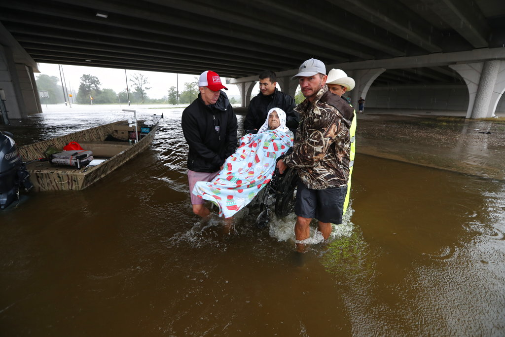 FOTO: Steve Gonzales/Houston Chronicle via AP
