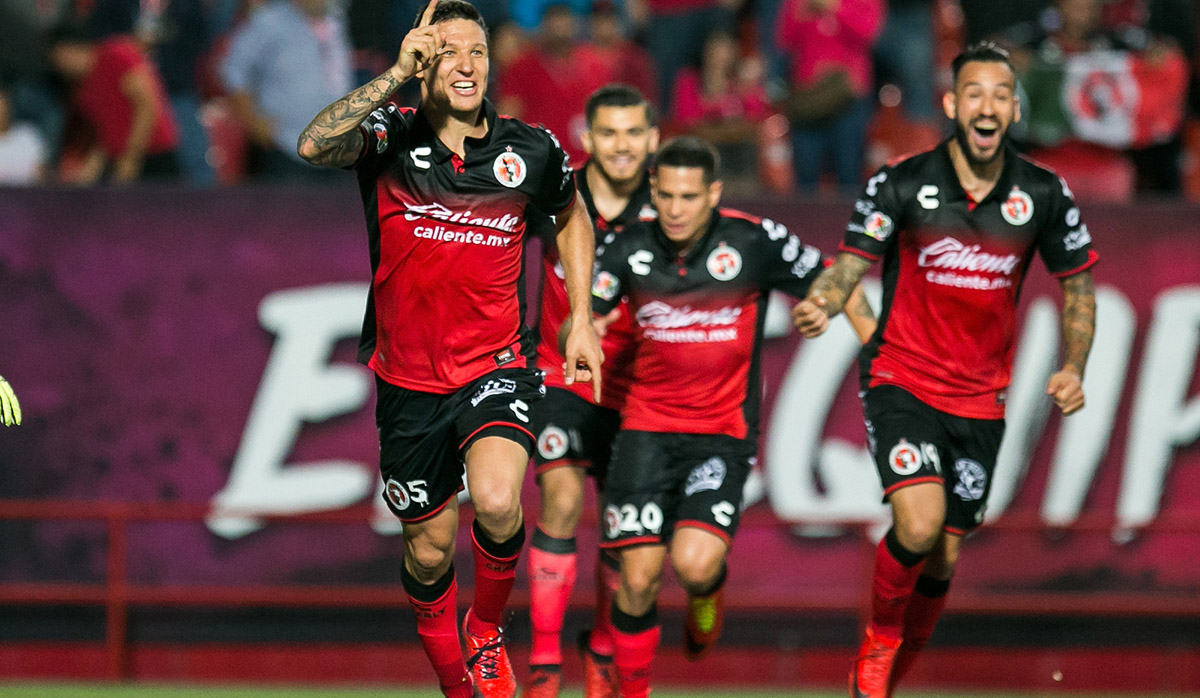 Los Xolos de Tijuana vencen 2-1 a los Tuzos del Pachuca en el arranque de la fecha 7 del Apertura 2017