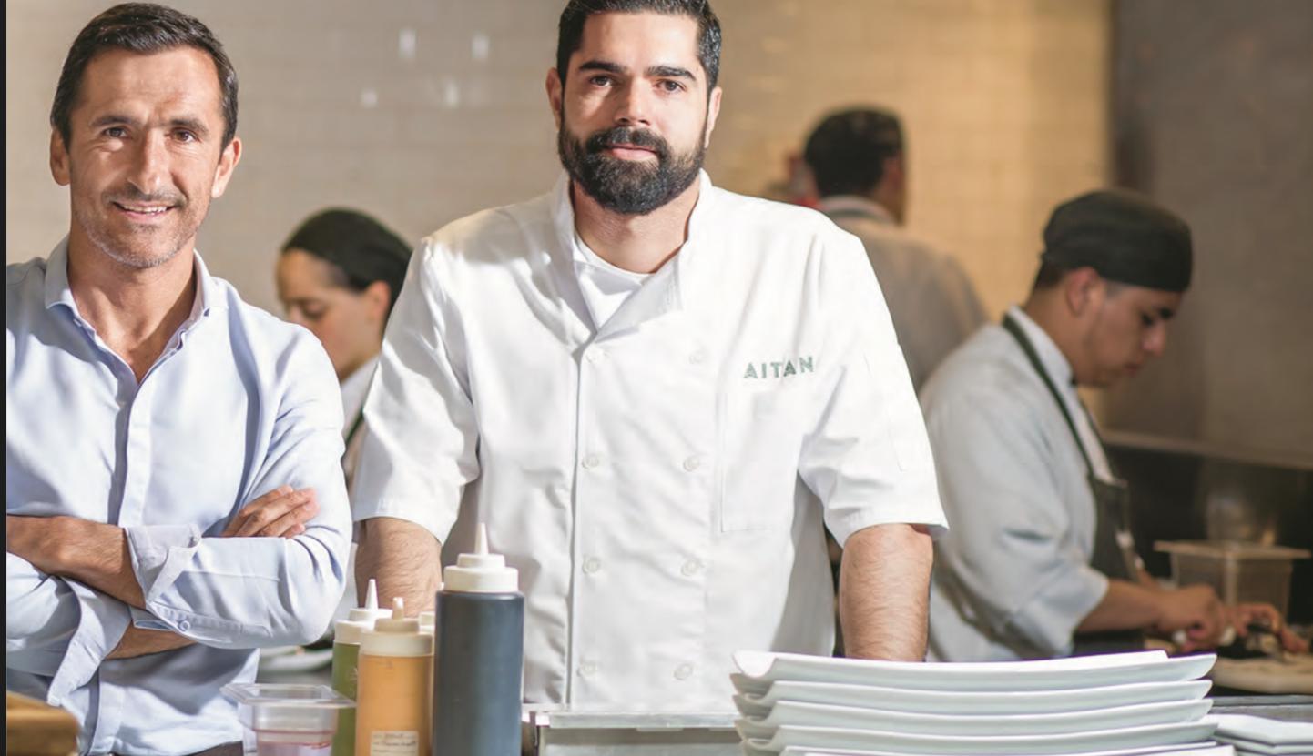 Restaurante Aitana; innovador, fresco y diferente