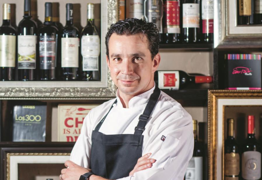 Gastro Lab. Santi Palacio, pasión y entrega detrás de un banquete