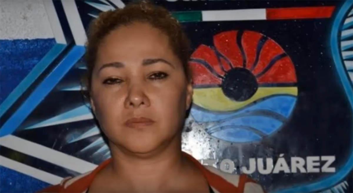 Doña Lety, presunta líder del cártel de Cancún, fue detenida
