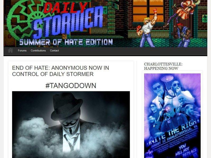 Google y GoDaddy retiran el servicio a una web neonazi