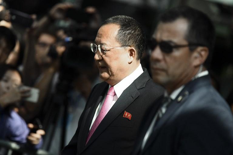 Corea del Norte dice que Trump le declaró la guerra