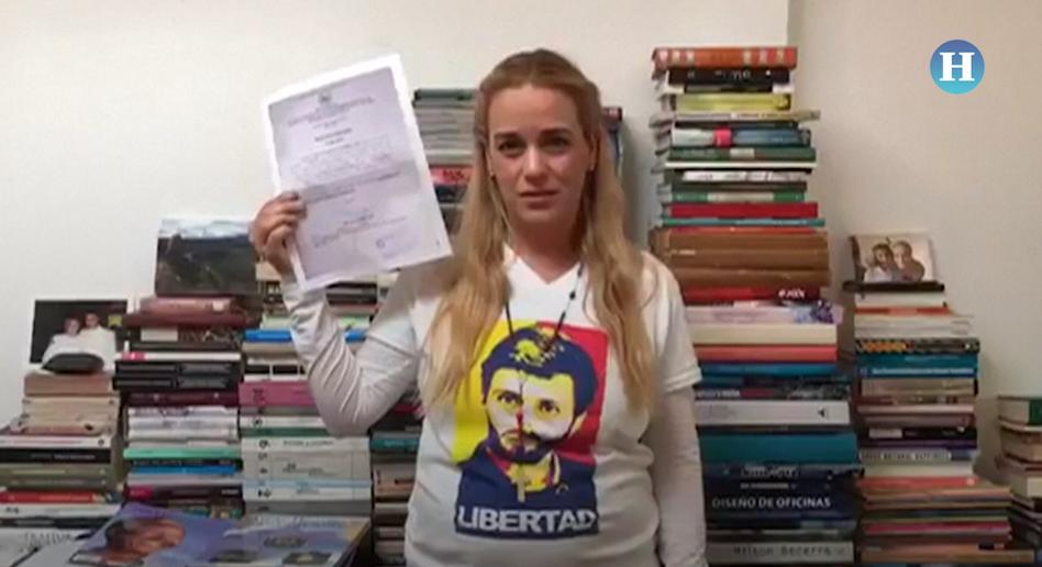 Prohíben a Lilian Tintori salir de Venezuela