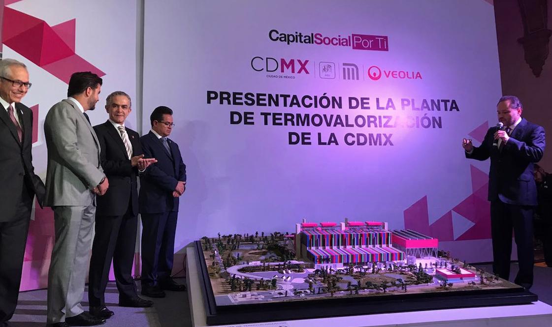 Planta procesará basura para producir energía para la CDMX