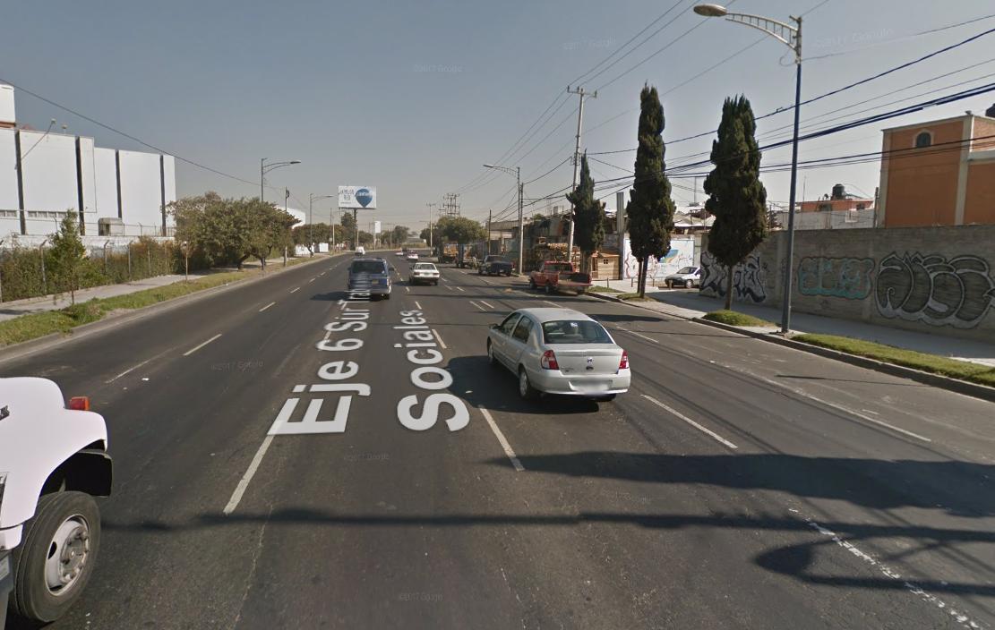Eje 6 Sur, la vía con más accidentes en la Ciudad de México
