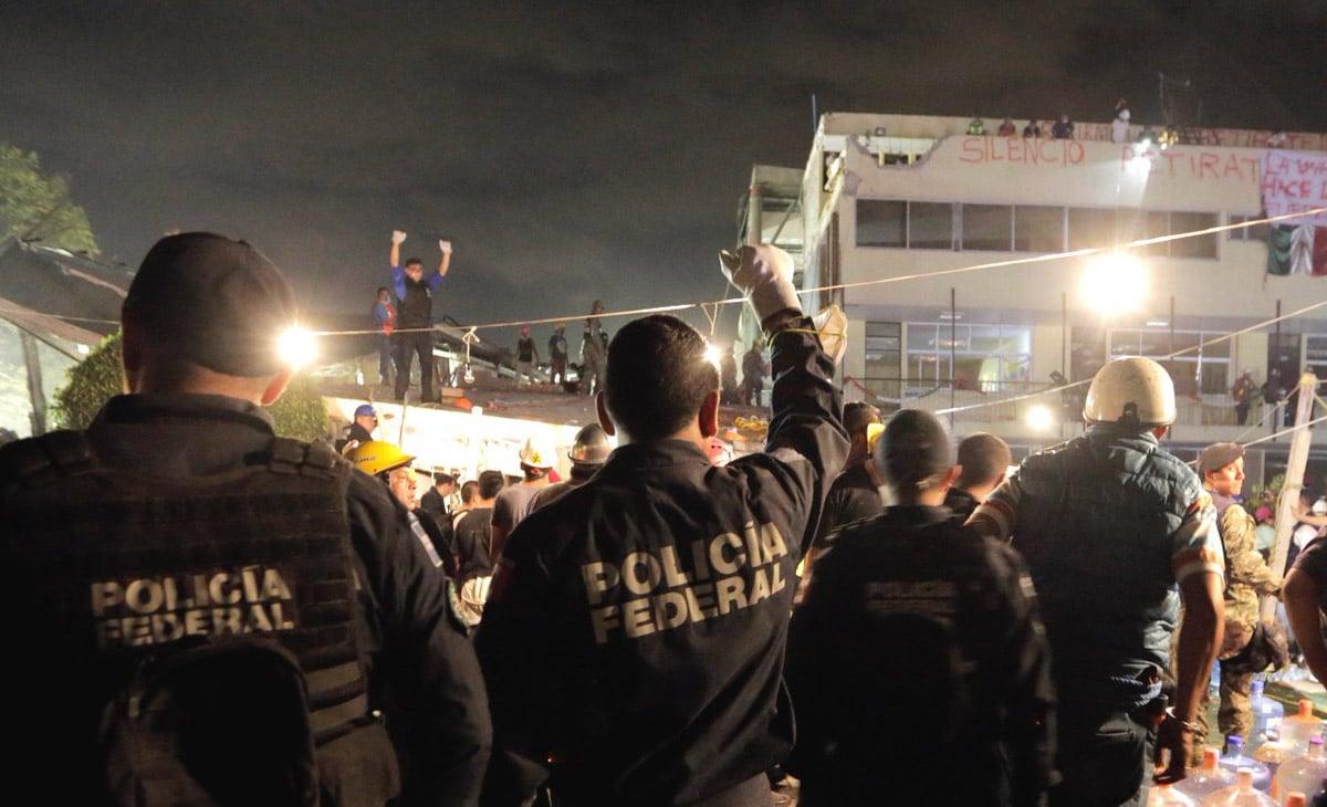 Por órdenes del Secretario de Gobernación, Miguel Ángel Osorio Chong, la Policía Federal patrullará delegaciones y colonias afectadas para garantizar la seguridad