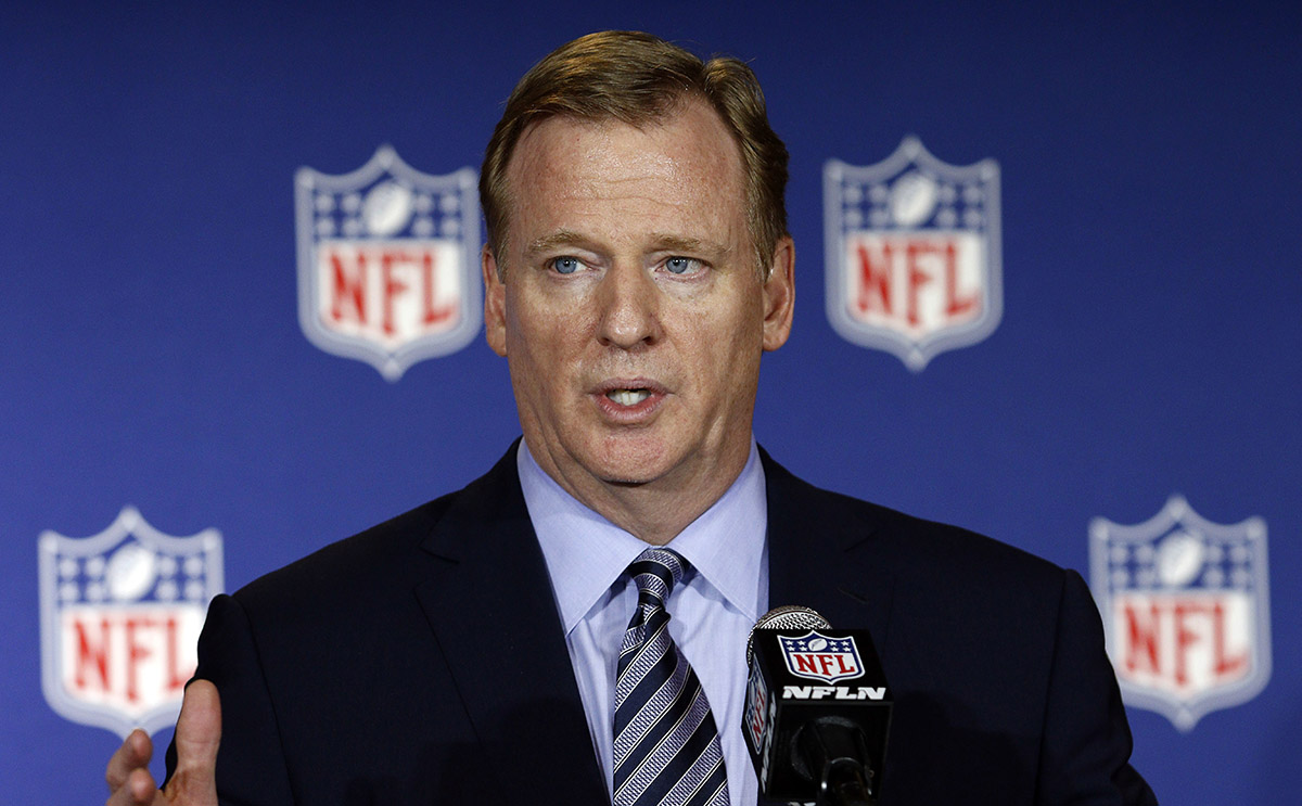 El comisionado de la NFL, Roger Goodell destacó los cambios y mejoras que se hicieron para beneficiar el espectáculo en la temporada 2017.