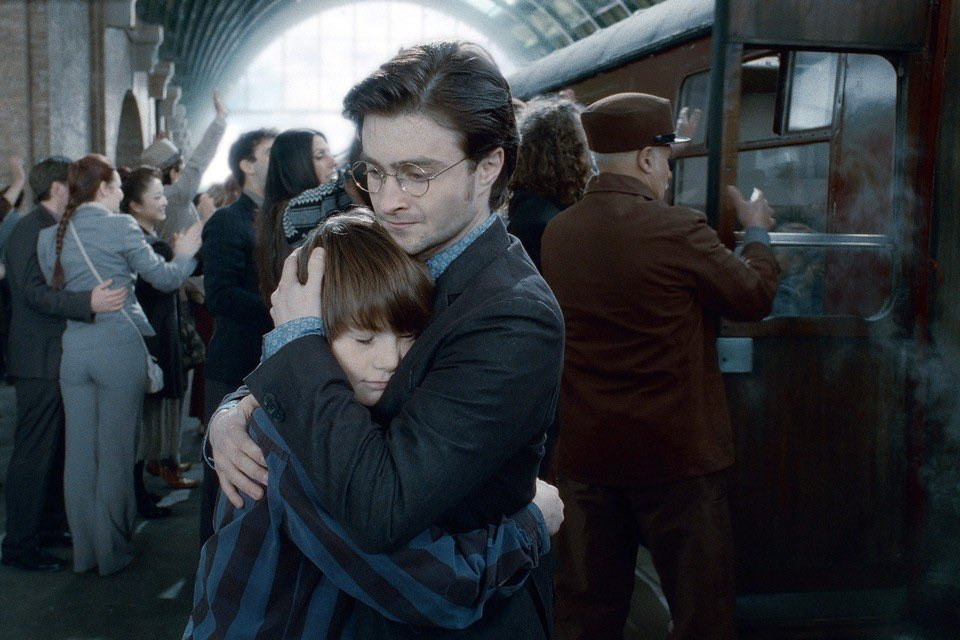 El hijo de Hary Potter, Albus Severus, ingresa a Hogwarts