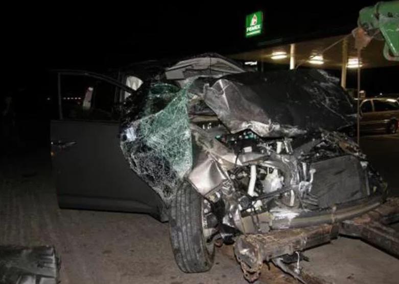 Futbolistas protagonizan accidentes automovilísticos